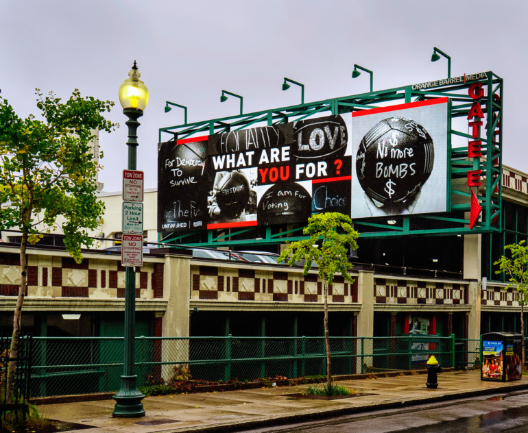 billboard art paula crown